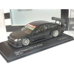 OPEL VECTRA GTS V8 DTM TEST CAR 2005 Peinture Noir Mat MINICHAMPS 1:43