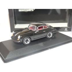 PORSCHE 356 CARRERA 2 1963-64 Noir MINICHAMPS 1:43 roue modifié