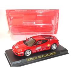 FERRARI 360 CHALLENGE Rouge GT COLLECTION IXO PRESSE 1:43 sous coque