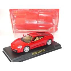 FERRARI F430 Rouge GT COLLECTION IXO PRESSE 1:43 sous coque