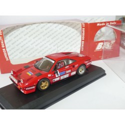 FERRARI 308 GTB RALLYE DEL CARSO 1983 CUCCIRELLI BEST 9263 1:43