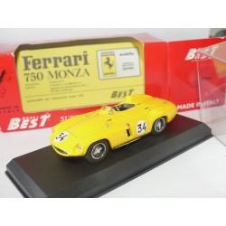 FERRARI 750 MONZA N°34 SPA 1955 BEST 9046 1:43