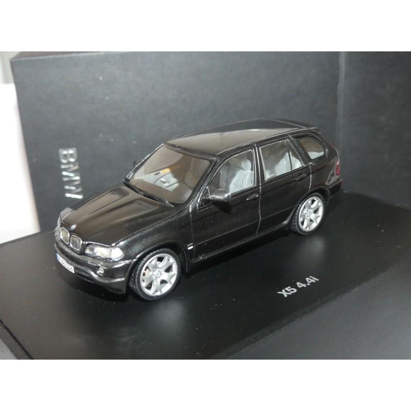 BMW X5 4,4i E53 Noir MINICHMAPS 1:43