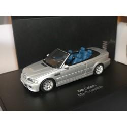 BMW M3 E46 CABRIOLET Gris MINICHAMPS 1:43