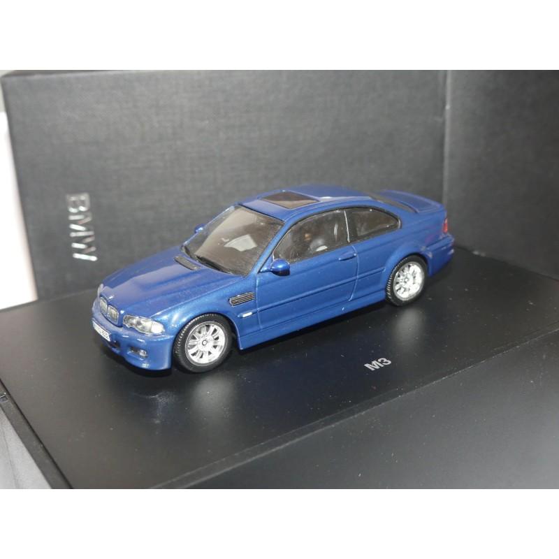 BMW M3 E46 COUPE Bleu MINICHAMPS 1:43