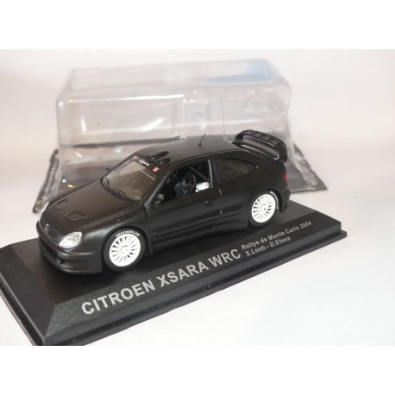 CITROEN XSARA WRC version Test Car Noir ALTAYA 1:43 modèle modifié