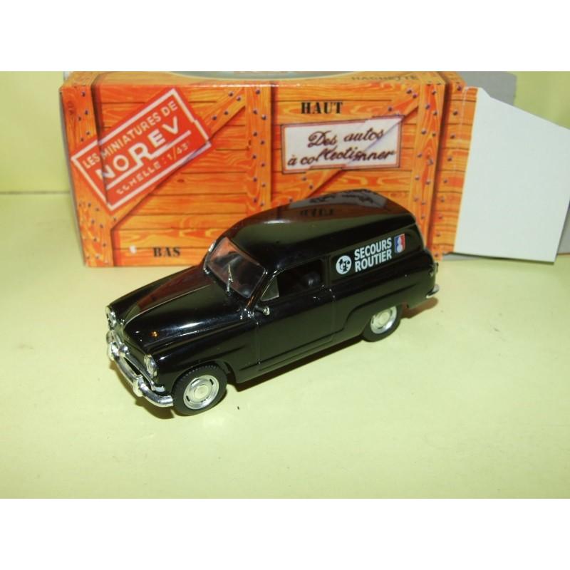SIMCA ARONDE 1955 SECOURS ROUTIER GENDARMERIE NOREV boite carton 1:43