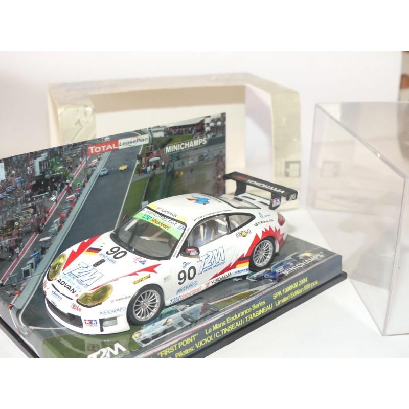 PORSCHE 911 GT3 RS 1000 Km 2004 SPA ICKX MINICHAMPS 1:43
