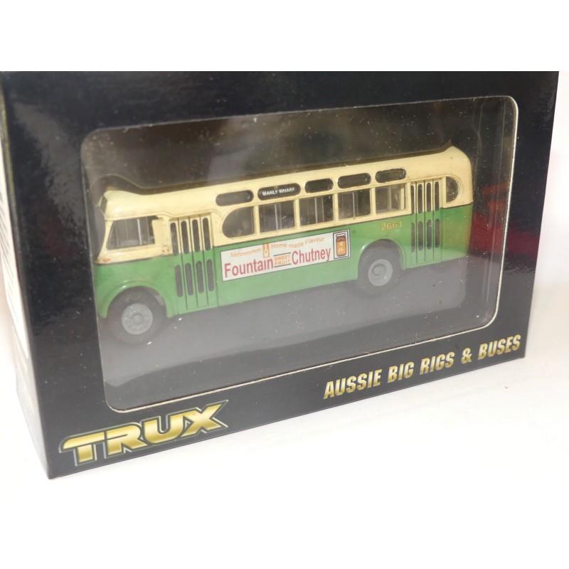 CAR BUS DAIMLER CV 1953 TRUX TX1C 1:76