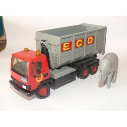 CAMION LEYLAND ECD TRANSPORT ELEFANT MATCHBOX K-141 1:43 sans boite