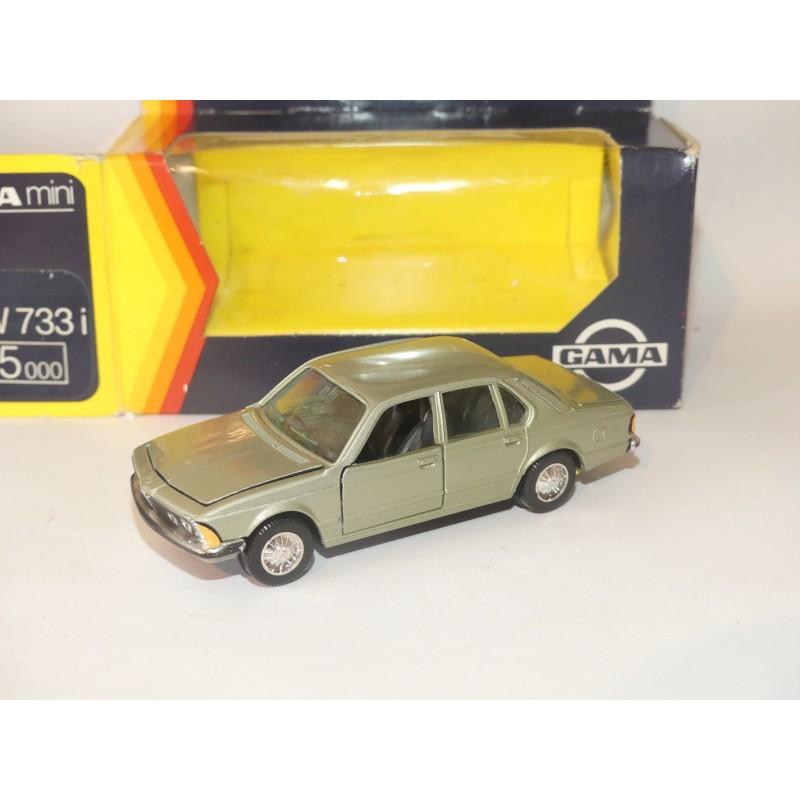 BMW 733 i E23 Gris GAMA 1:43