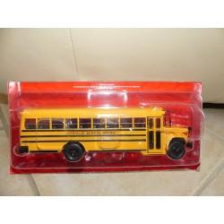 AUTOBUS ET AUTOCARS N°10 GMC 6000 SCHOOL BUS HACHETTE 1:43