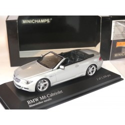 BMW M6 CABRIOLET 2006 Gris MINICHAMPS 1:43