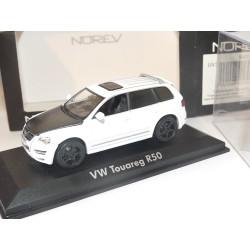 VW TOUAREG R50 Capot Carbone Roues Noires NOREV 1:43 modèle modifié