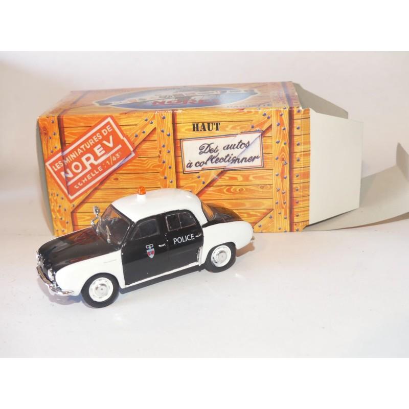 RENAULT DAUPHINE POLICE NOREV 1:43 boite carton