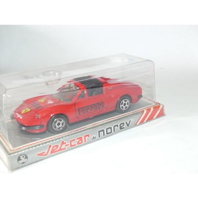 FERRARI DINO 246 GTS Rouge NOREV JET CAR 1:43