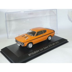 MITSUBISHI COLT GALANT GTO-MR 1970 Orange NOREV 1:43