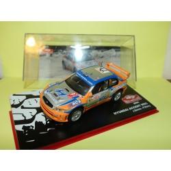 HYUNDAI ACCENT WRC RALLYE MONTE CARLO 2004 J. BERES ALTAYA 1:43 Abd