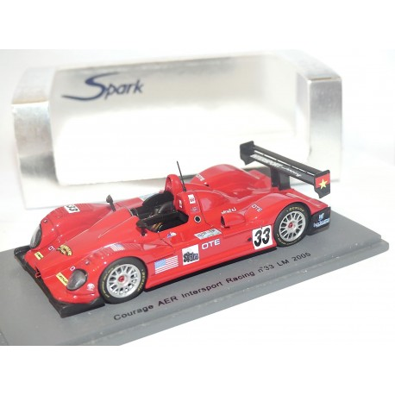 COURAGE AER INTERSPORT RACING N°33 LE MANS 2005 SPARK S0131 1:43