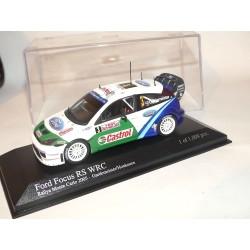 FORD FOCUS WRC N°3 RALLYE MONTE CARLO 2005 GARDEMEISTER MINICHAMPS 1:43