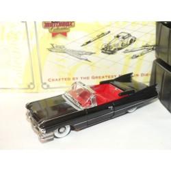 CADILLAC COUPE DEVILLE 1959 Noir MATCHBOX DYG05-M 1:43