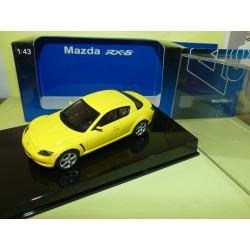 MAZDA SPEED RX-8 Jaune AUTOART 1:43