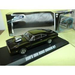 DODGE CHARGER R/T DOM'S 1970 FAST AND FURIOUS GREENLIGHT 86201 1:43