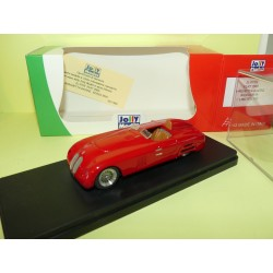 FIAT 1500 BARCHETTA GAVINI Rouge 1939 JOLLY MODEL JL0729 1:43 Abd