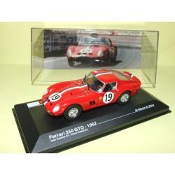 FERRARI 250 GTO N°19 LE MANS 1962 ALTAYA 1:43 Arrivée 2ème