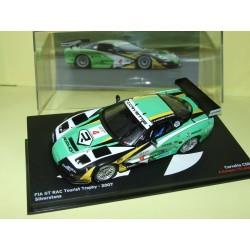 CHEVROLET CORVETTE C5R N°4 FIA GT RAC SILVERSTONE 2007 ALTAYA 1:43 3ème