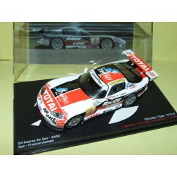 CHRYSLER VIPER GTS-R N°1 24 Heures de SPA 2002 ALTAYA 1:43 1er