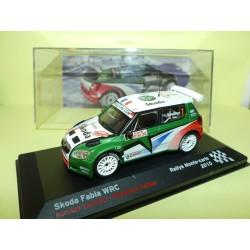 SKODA FABIA WRC RALLYE MONTE CARLO 2010 N. VOUILLOZ ALTAYA 1:43 3ème