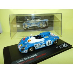 MATRA SIMCA MS650 RALLYE TOUR DE FRANCE AUTO 1971 ALTAYA 1:43 18ème