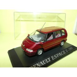 RENAULT ESPACE II 1991 Bordeaux UNIVERSAL HOBBIES Collection M6 1:43
