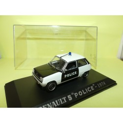 RENAULT 5 1974 POLICE UNIVERSAL HOBBIES Collection M6 1:43