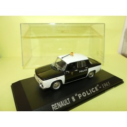 RENAULT 8 1965 POLICE UNIVERSAL HOBBIES Collection M6 1:43