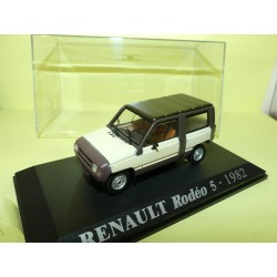 RENAULT RODEO 5 1982 Crème et Marron NOREV Collection M6 1:43