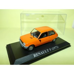 RENAULT 5 1972 Orange ALTAYA 1:43