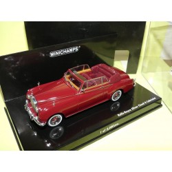 ROLLS ROYCE SILVER CLOUD II CABRIOLET Bordeaux Red  MINICHAMPS 1:43