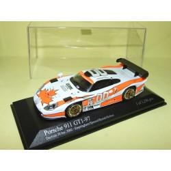 PORSCHE 911 GT1 N°00 24 Heures de DAYTONA 2002 MINICHAMPS 1:43 Arrivée 32ème Abd