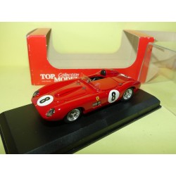 FERRARI 315 N°8 LE MANS 1957 TOP MODEL TMC165 1:43 5ème