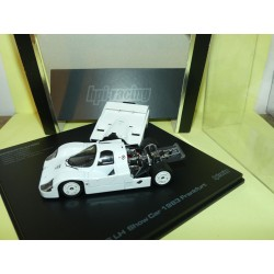 PORSCHE 956 LH Show Car FRANKFORT 1983 Blanc HPI-Racing 1:43