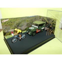 JEEP WILLYS M13 La Course Cycliste ALTAYA N7 Route Bleu 1:43