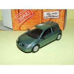 RENAULT MEGANE II Coupe 2003 Vert NOREV 1:43 boite carton