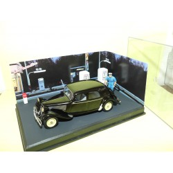 CITROEN TRACTION 11 Le Plein D'essence ALTAYA N7 Route Bleu 1:43
