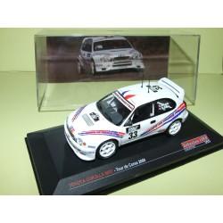 TOYOTA COROLLA WRC RALLYE TOUR DE CORSE 2000 S. LOEB ALTAYA 1:43 9ème