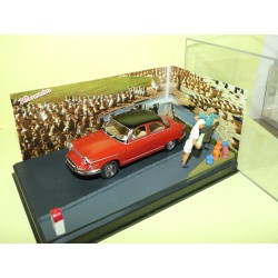 PANHARD PL17 Rouge Les Poteries d'Accollay ALTAYA N7 1:43