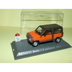 RENAULT RODEO 5 4 SAISONS Teilhol 1982 UNIVERSAL HOBBIES 1:43  M6 Interaction
